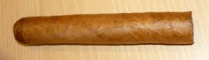 Freshly rolled Cuban cigar